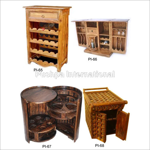 Handmade Wooden Wine Racks
