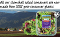 RPet Transperant container
