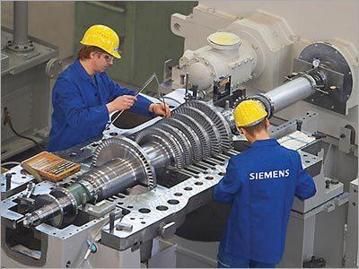 Steam Turbine Erection Services