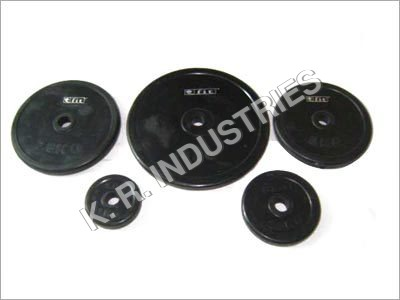 Metal Coated  Weight Lifting Plates