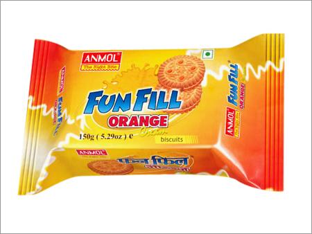 Orange Cream Biscuits