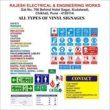 Vinyl Signages