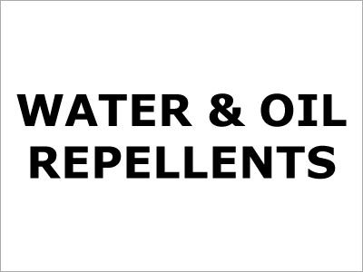 Water & Oil Repellents