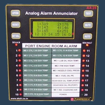 Analog Alarm Annunciator