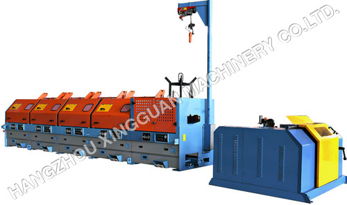 Steel Wire Drawing Machine with collector