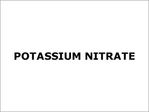 Potassium Nitrate
