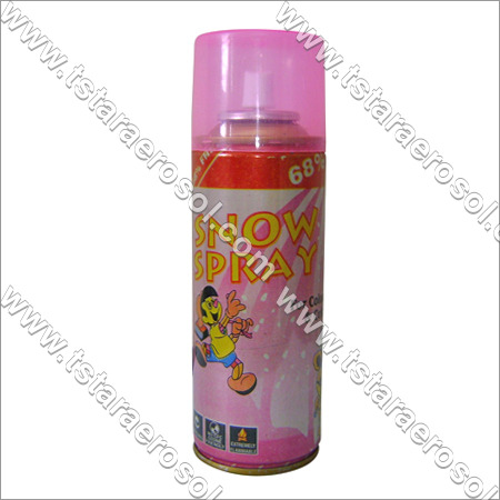 Snow Aerosol Spray