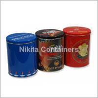 Printed Metal Container