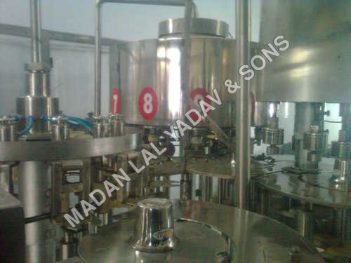60 bpm automatic rinsing ,filling,capping machine