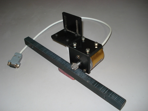 Encoder with Rack & Pinion