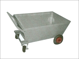 4-Wheel Garbage Trolley
