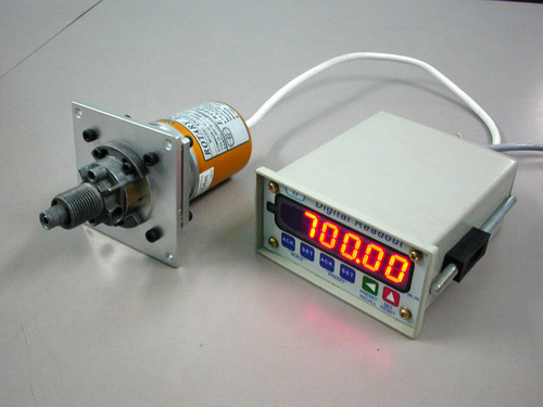Encoder with Speedo-meter