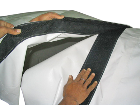 Duct With Velcro Joints
