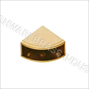 Brass Corner D Bracket