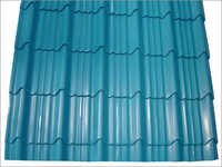 Roofing metal tile