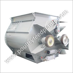 Double Shaft Type Mixture Machine