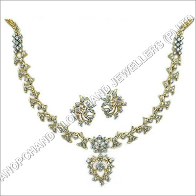 Diamond Necklace Sets