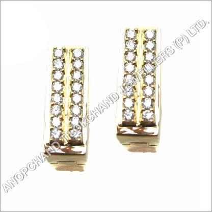 Diamond Studded Gold Tops