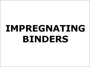 Impregnating Binders