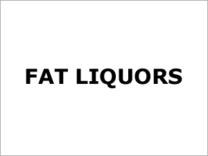 Fat Liquors chemicals