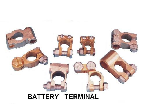 Brass Battery Terminal, Brass Battery Connectors