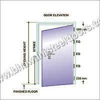 Insulated Metal Doors Frame
