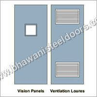 Insulated Metal Ventilation Doors