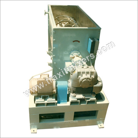 Industrial Horizontal Ribbon Blender With Chopper