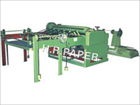 Simplex Rotary Paper Sheet Cutting Machine