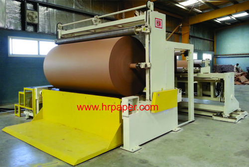 Jumbo Paper Slitting Rewinding Machine