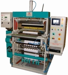 Tapless ATM Roll making machine