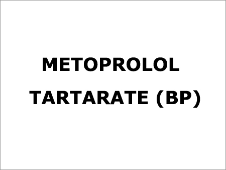 Metoprolol Tartarate (BP)