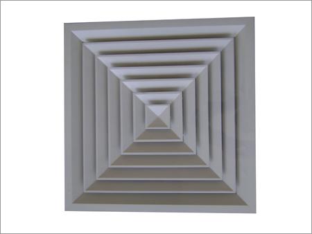 Aluminium Diffuser Grid Ceiling