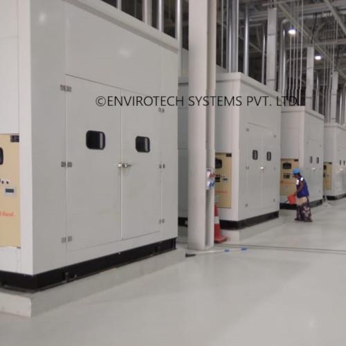 Acoustic Enclosure for Compressor