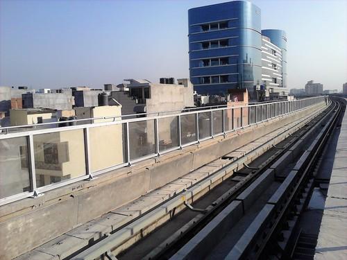 Noise Barrier For Metro