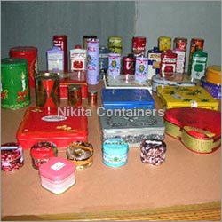 Customized Printed Decorative Tin Containers