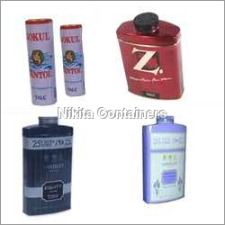 Talcum Powder Containers