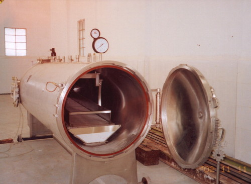 Continuous Steam Sterilizer With Dryer