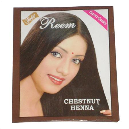 Reem Hair Color (Chestnut Henna)