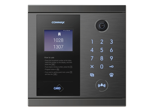 Commax METAL LOBBY PHONE DRC-7MBL/RF1