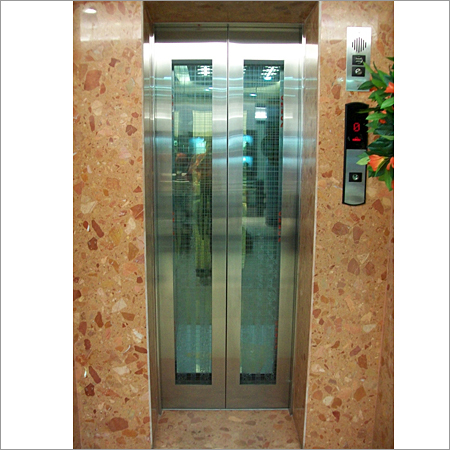 Bungalow Elevators Landing Glass Door Bungalow Elevators
