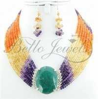 Handmade Gemstone Choker Necklace