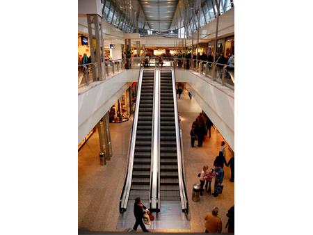 Mall Escalator