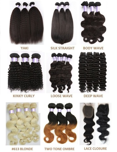 Colour 613 Machine Weft Hair