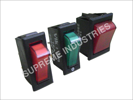 Slim Line Rocker Switch