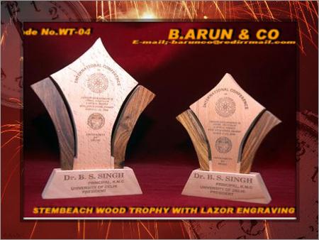 Wooden Trophies & Plaques