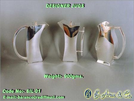 Designer Silver Jugs