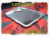 Rectangle Silver Tray