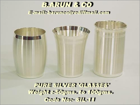 Pure Silver Tumbler