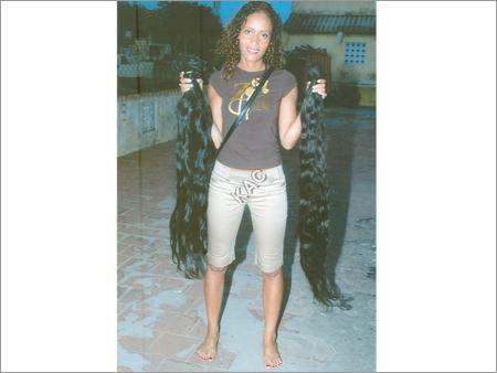 Wavy Human Hair Accessories